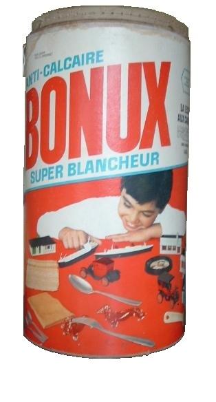 baril de lessive Bonux